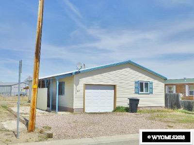 Diamondville Single Family Home For Sale: 57 Twin Creek Drive