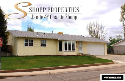 Casper Single Family Home For Sale: 3 Jonquil