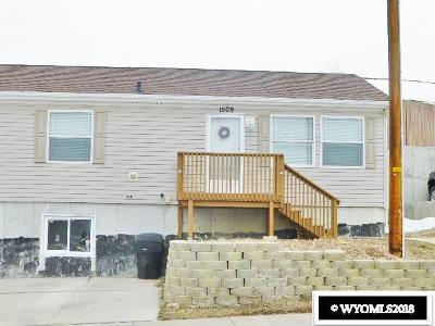 Kemmerer Single Family Home For Sale: 1509 9th West Ave.