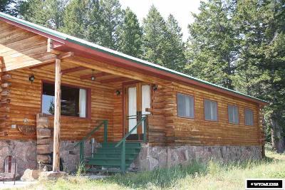 Dubois,  Kinnear,  Crowheart, Pavillion Single Family Home For Sale: Pinion Ct