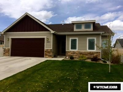 Casper Single Family Home For Sale: 2550 Waterford