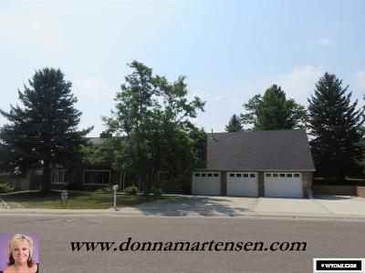 Casper Single Family Home For Sale: 1041 Dundee