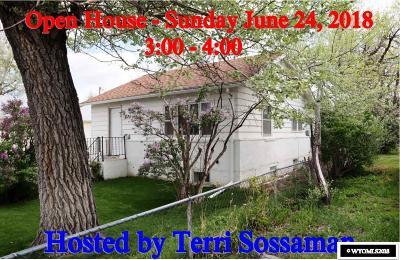 Casper Single Family Home For Sale: 1025 N Jackson