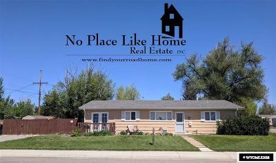Casper Single Family Home For Sale: 2904 Bellaire