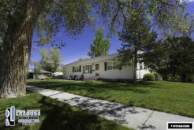 Casper Single Family Home For Sale: 439 S Huber