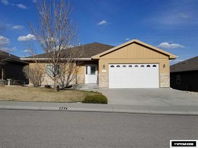 Casper Single Family Home For Sale: 931 Recluse