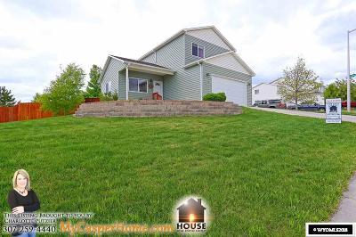 Casper Single Family Home New: 3526 Applegate