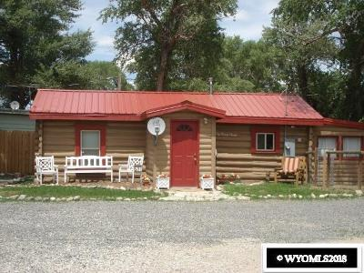 Fremont County Single Family Home For Sale: 109 Horse Creek