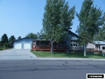 Casper WY Single Family Home New: $395,000