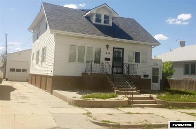 Casper Multi Family Home Pending-Continue To Show: 1234 And 1236 S Chestnut