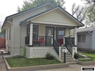 Casper WY Single Family Home For Sale: $189,900