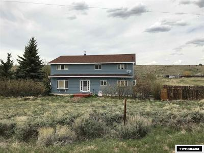 Fort Bridger Single Family Home For Sale: 762 County Road 260