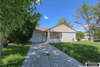 Casper Single Family Home For Sale: 100 S Utah