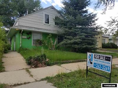 Casper Single Family Home For Sale: 1311 S Cherry