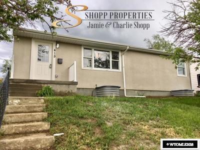 Casper Single Family Home For Sale: 415 S Nebraska
