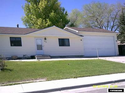 Green River Single Family Home For Sale: 370 Anvil