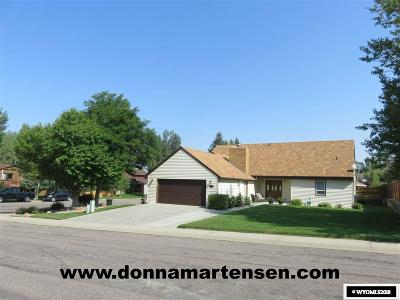 Casper WY Single Family Home New: $325,000