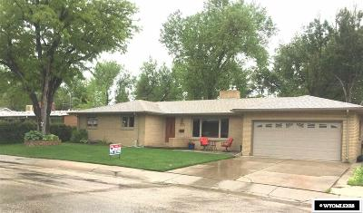 Casper Single Family Home For Sale: 2025 Lynwood Place