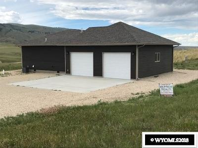 Buffalo WY Single Family Home For Sale: $398,000
