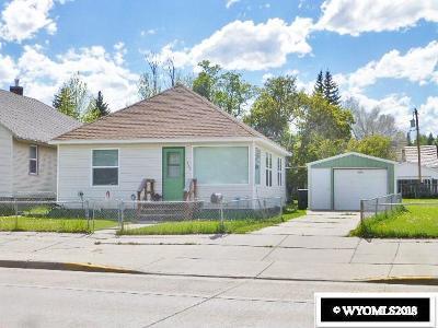 Kemmerer Single Family Home For Sale: 1309 Central Ave.