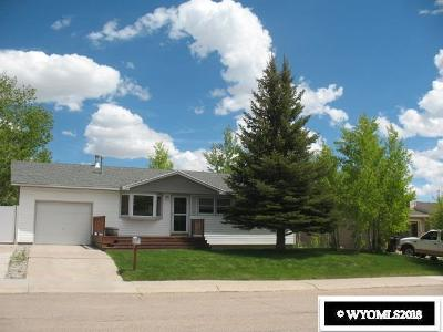 Kemmerer Single Family Home For Sale: 1332 4th West Ave.