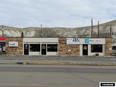 Green River Commercial For Sale: 541 E Flaming Gorge