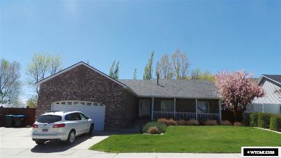 Green River Single Family Home For Sale: 1210 Kentucky