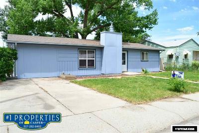 Casper Single Family Home For Sale: 1654 Cody Avenue