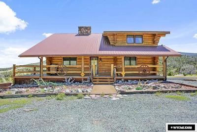 Dubois,  Kinnear,  Crowheart, Pavillion Single Family Home For Sale: 196 Soda Springs