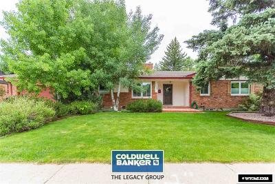 Casper Single Family Home For Sale: 1600 Brookview
