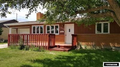 Casper Single Family Home For Sale: 1836 Kit Carson