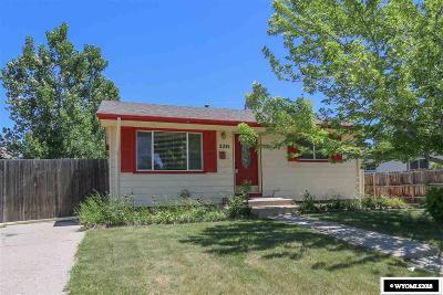 Casper Single Family Home For Sale: 2241 S Jackson