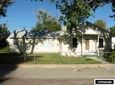Casper Single Family Home For Sale: 1033 N Jackson