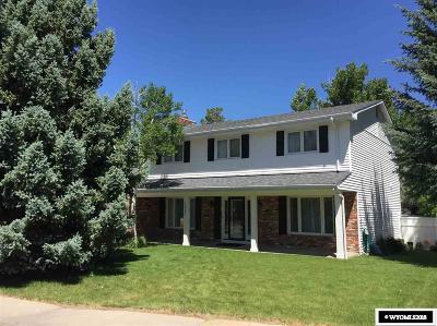 Casper Single Family Home For Sale: 1421 Kelly