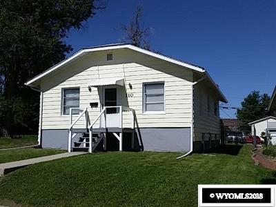 Casper Single Family Home For Sale: 110 S Kenwood