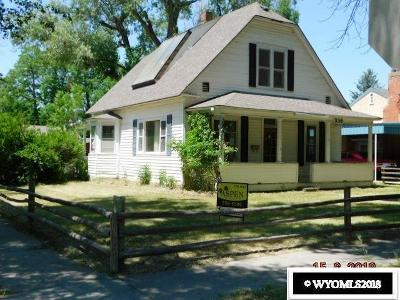 Single Family Home For Sale: 338 S 5th