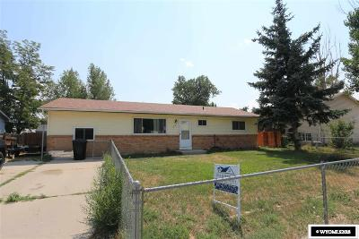 Casper Single Family Home For Sale: 55 Riverbend
