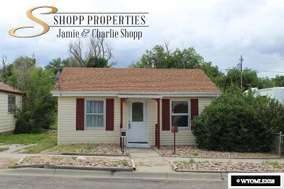 Casper Single Family Home For Sale: 1634 S Jackson