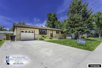 Casper WY Single Family Home New: $210,000