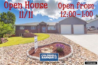 Casper Single Family Home For Sale: 4331 S Oak