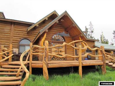 Dubois,  Kinnear,  Crowheart, Pavillion Single Family Home Pending-Continue To Show: 12 Spruce