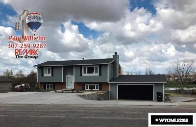 Casper Single Family Home For Sale: 334 Aster