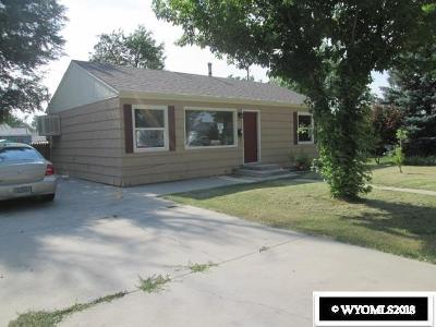 Casper WY Single Family Home Back On Market: $109,800
