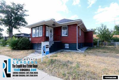 Casper Single Family Home For Sale: 1304 E 1st
