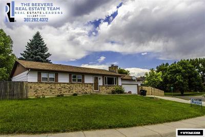 Casper Single Family Home Pending-Continue To Show: 4360 Sunrise