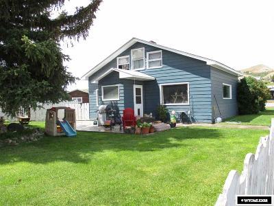 Dubois,  Kinnear,  Crowheart, Pavillion Single Family Home Pending-Continue To Show: 10 Lander