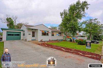 Casper Single Family Home For Sale: 340 Wisconsin