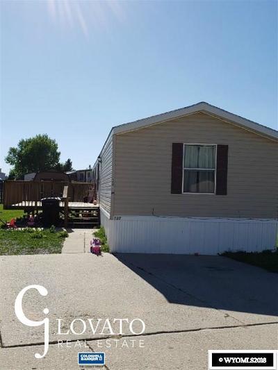 Casper Single Family Home For Sale: 337 Columbine