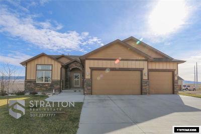 Casper Single Family Home For Sale: 1211 Prairie River