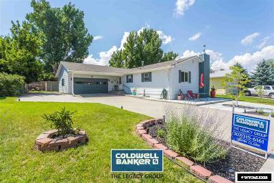 Casper Single Family Home For Sale: 110 Sherwood